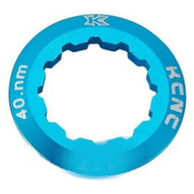 KCNC Shimano Cassette Lockring 10/11/12-speed 12T, blue
